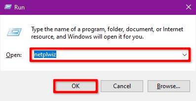 désactiver mot de passe windows 10