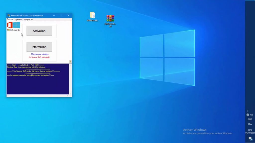 activer windows 10 kms